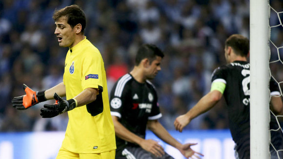 Iker Casillas. EFE.