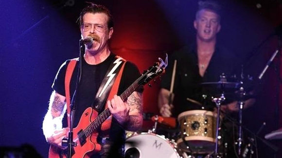La banda californiana Eagles of Death Metal. EP
