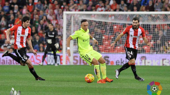 Partido Athletic - Levante. Foto LFP.