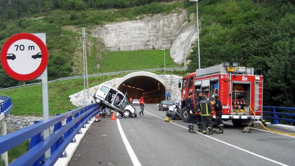 Accidente en la NA-121-A (Navarra.es)