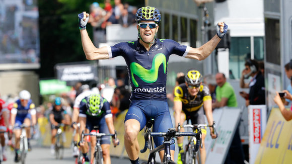 Jesús Herrada. Foto Movistar team.