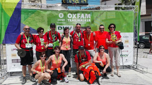 VI carrera solidaria Oxfam Intermón Trailwalker (EP).