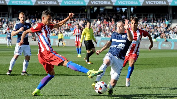 Imagen del Melbourbe Victory 1 - 0 Atlético de Madrid. EFE/EPA/JOE CASTRO AUSTRALIA AND NEW ZEALAND OUT