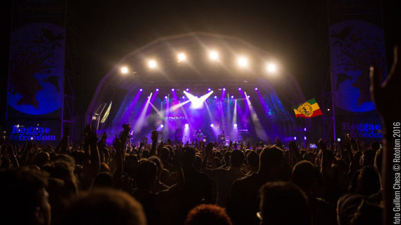 Benicassim, 14/08/2016. Green Valley (Main stage). Photo by: Guillem Chesa © Rototom Sunsplash 2016.