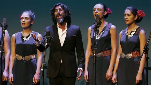Arcángel enciende el Flamenco On Fire en Pamplona