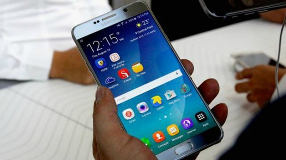 El dispositivo Samsung Galaxy Note 7. EFE