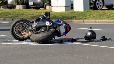 Accidente de moto. ARCHIVO
