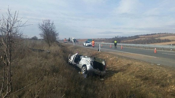 Un accidente en carreteras navarras. ARCHIVO