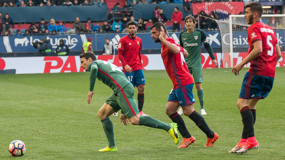 Partido entre Osasuna y Athletic Club de Bilbao disputado en el estadio de El Sadar  (39). IÑIGO ALZUGARAY