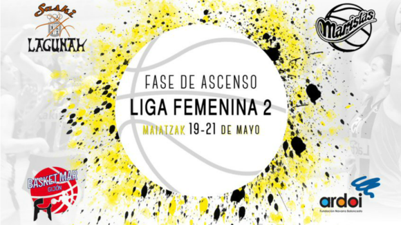 Cartel de la fase de ascenso.