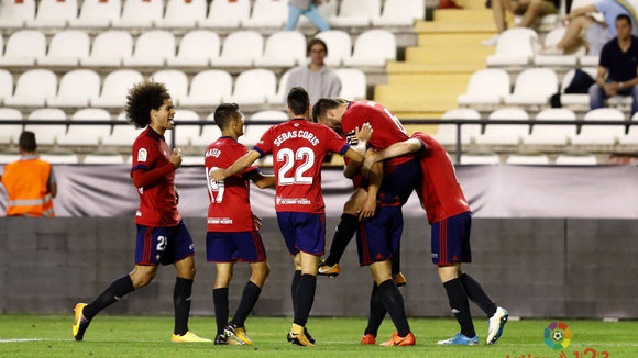 Osasuna sale del pozo de la tabla y se coloca en la zona media después de la victoria en el estadio de Vallecas
