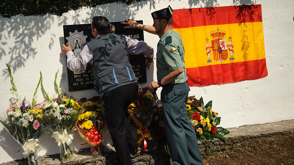 Homenaje a un Guardia Civil en Leiza. MIGUEL OSÉS_17