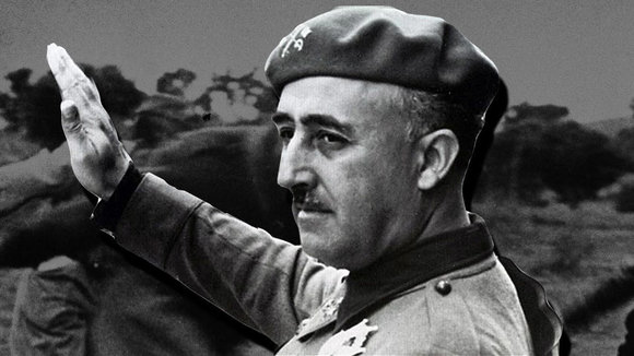El dictador Francisco Franco..