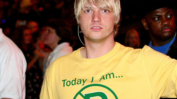 Nick Carter, cantante de los Backstreet Boys