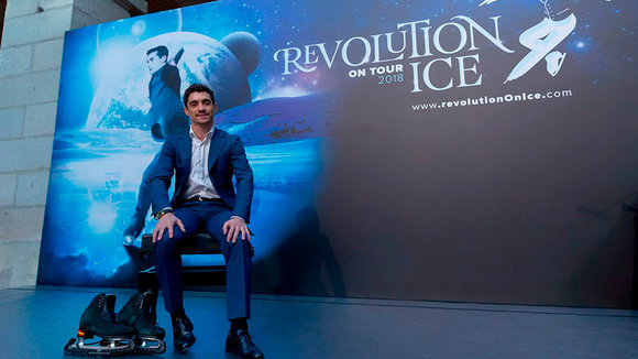 El patinador Javier Fernández presenta en Madrid 'Revolution on Ice' CEDIDA