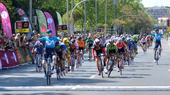Carlos Barbero gana en Madrid. Movistar.