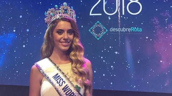 Amaia Izar Leache Larumbe, la navarra ganadora de Miss World Spain MISS WORLD SPAIN