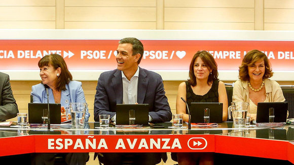 Comisión Ejecutiva Federal del PSOE EUROPA PRESS