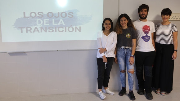 Alumnos del instituto Sancho III El Mayor de Tafalla, premiados en un concurso europeo con un documental
