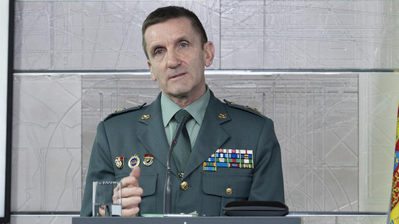 José Manuel Santiago es el jefe del Estado Mayor de la Guardia Civil. Europa Press.