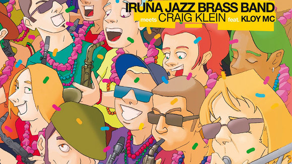 Portada del disco de la Iruña Jazz Brass Band - IRUÑA JAZZ BRASS BAND.