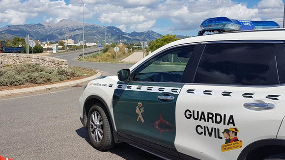Un coche de la Guardia Civil. GC
