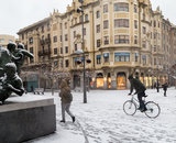 Nevada en Pamplona (27). IÑIGO ALZUGARAY