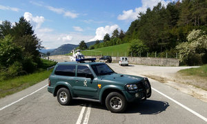 Accidente en Roncal, adonde acude un helicóptero GUARDIA CIVIL