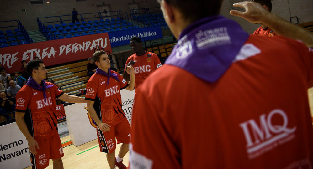 Baloncesto Basket Navarra - Real Canoe NC. MIGUEL OSES01