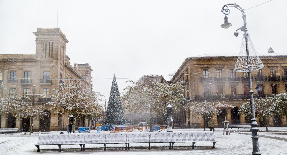 Nevada en Pamplona (43). IÑIGO ALZUGARAY