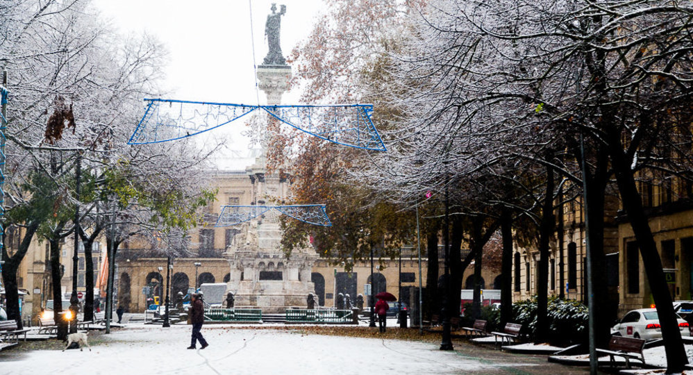 Nevada en Pamplona (59). IÑIGO ALZUGARAY