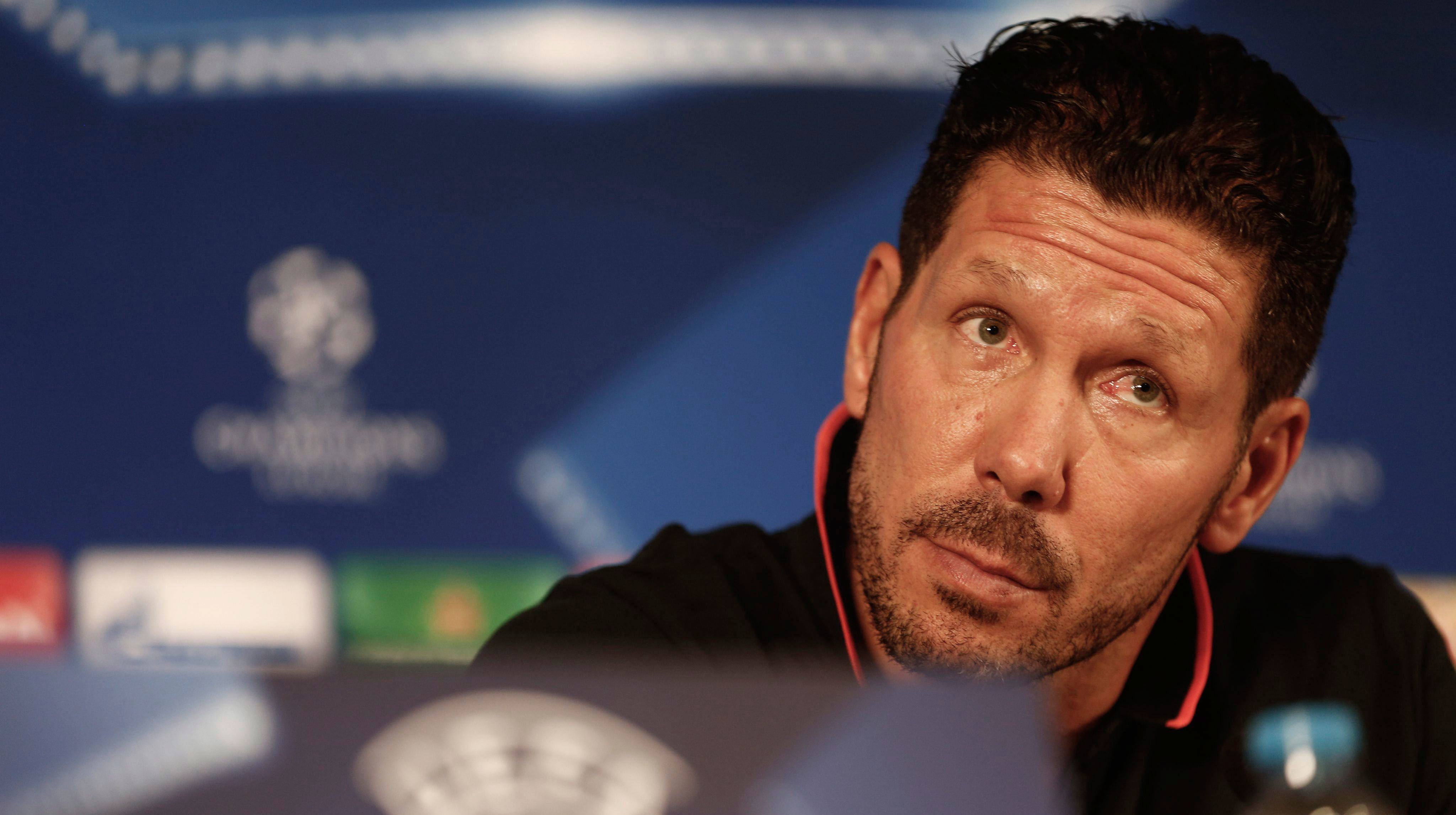 Diego Simeone es entrenador del At. Madrid. Efe.