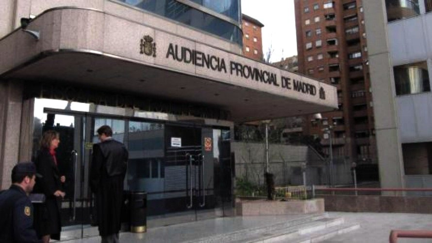 Audiencia Nacional de Madrid. EFE