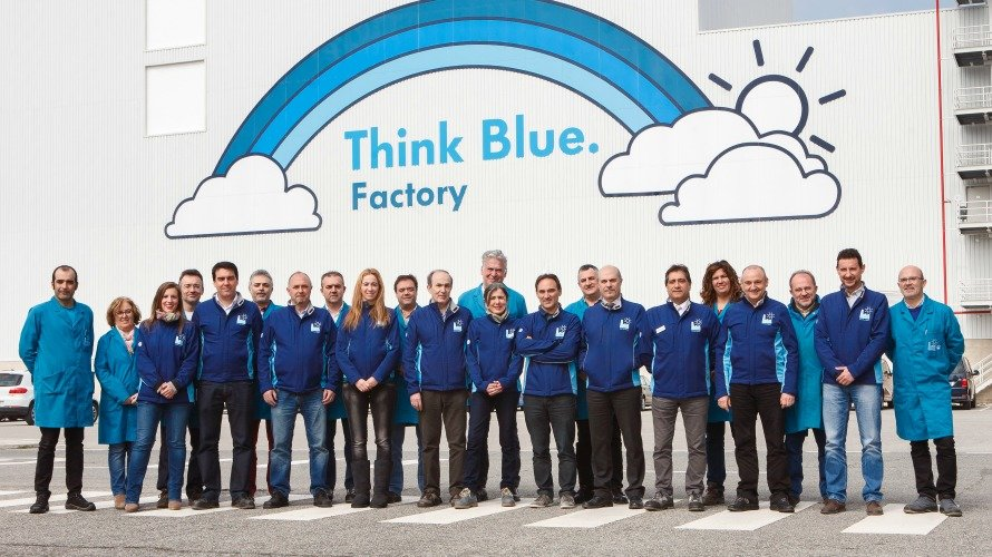 Embajadores Think Blue. Factory. y coordinadores Medio Ambiente