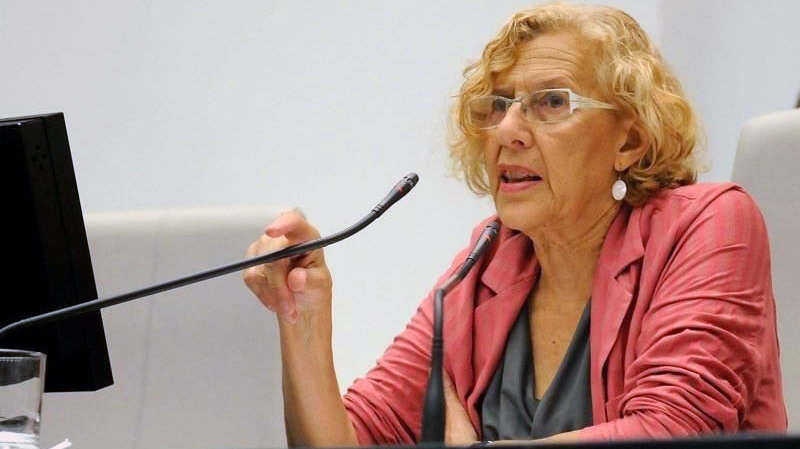 La alcaldesa de Madrid, Manuela Carmena. EUROPA PRESS