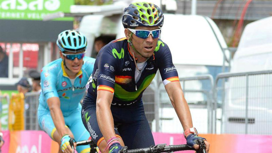 Alejandro Valverde (Movistar team). Efe.