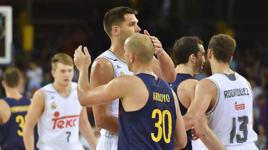 Segundo partido de la final entre Barcelona y Real Madrid. ACB Photo.