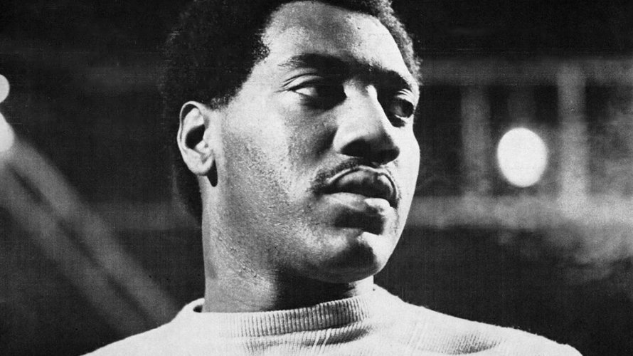 El cantante Otis Redding