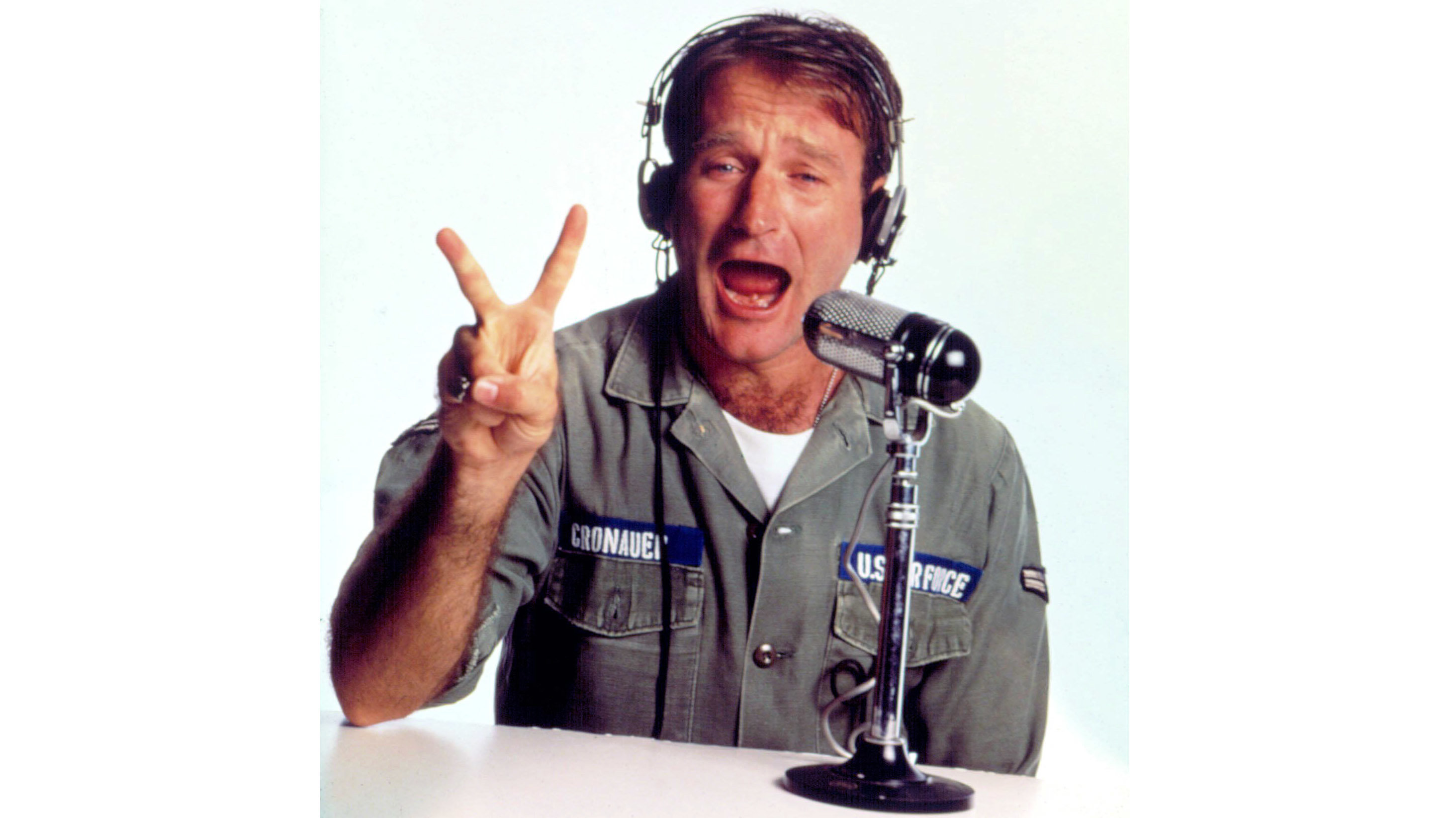 Robin Williams en Goog Morning Vietnam.