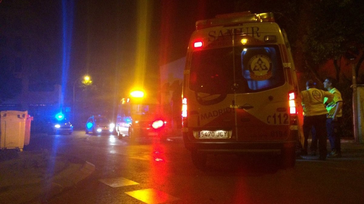 Imagen de una ambulancia de Madrid EUROPA PRESS
