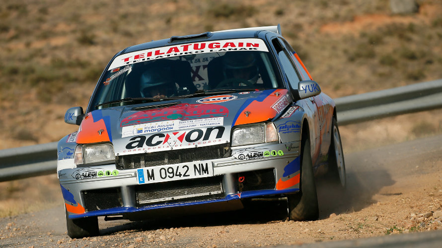 Rally Callaghan en Arnedo.