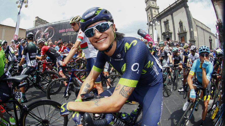 Foto web Movistar team.