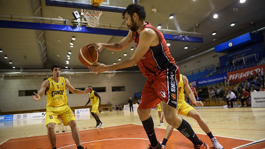 Baloncesto Basket Navarra - Real Canoe NC. MIGUEL OSES.
