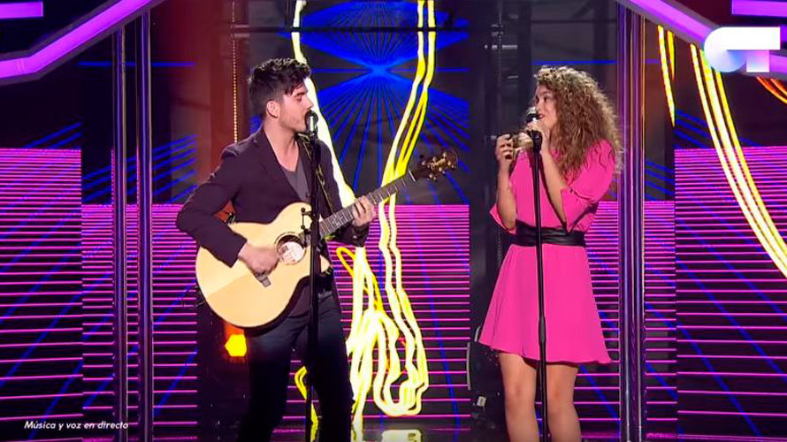 Amaia Romero y Roi interpretan Shape of you, de Ed Sheeran. RTVE