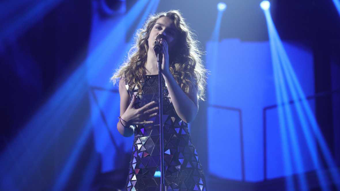 Amaia Romero canta 'Love on the brain', de Rihanna, en Operación Triunfo