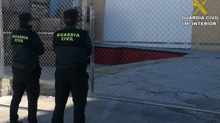 Dos agentes de la Guardia Civil. EP