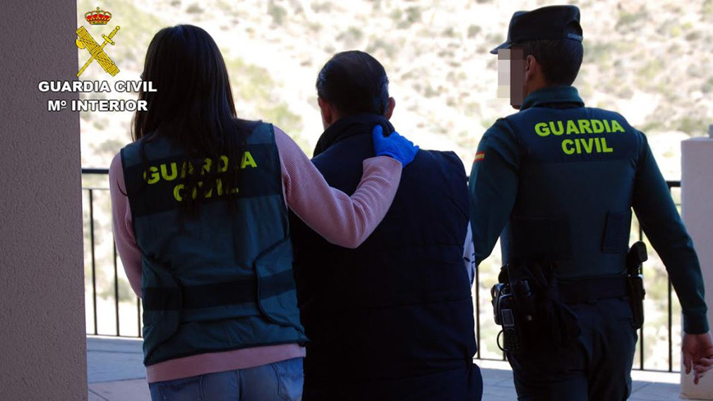 La Guardia Civil detiene al hombre acusado de incitar al odio en Facebook. GUARDIA CIVIL
