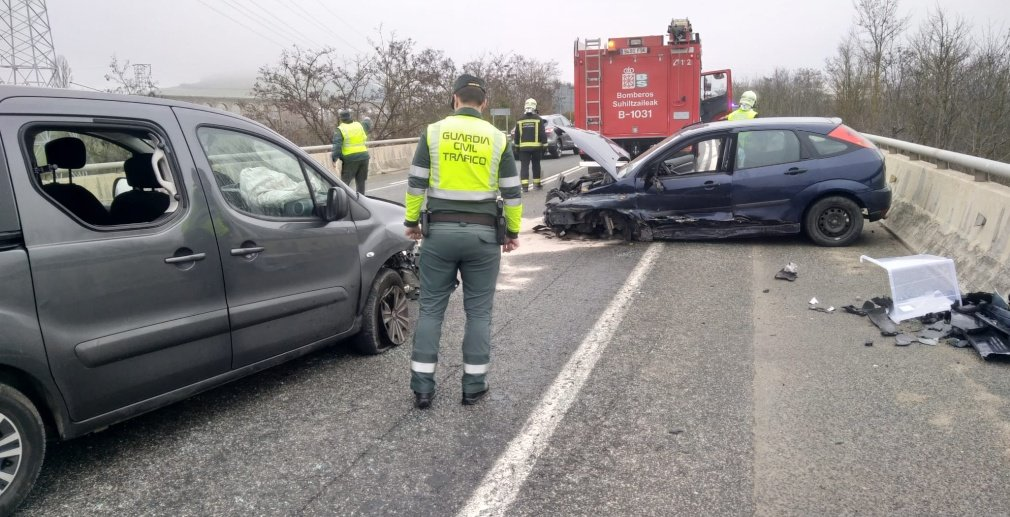 Accidente de Tráfico en la N-121 GUARDIA CIVIL