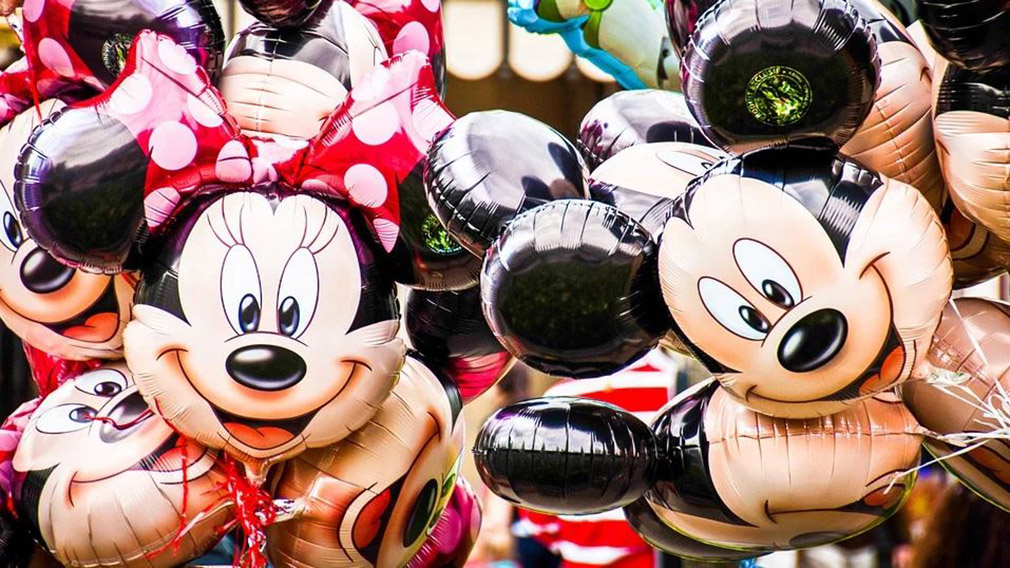 Globos de Minnie y Mickey Mouse. ARCHIVO