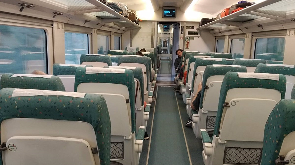 Interior de un Alvia de Renfe. EUROPA PRESS
